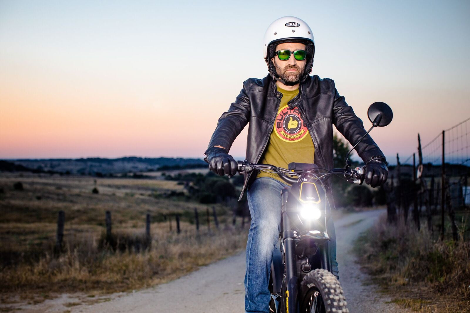 Bultaco Brinco C Restyle Night Time Shoot 11