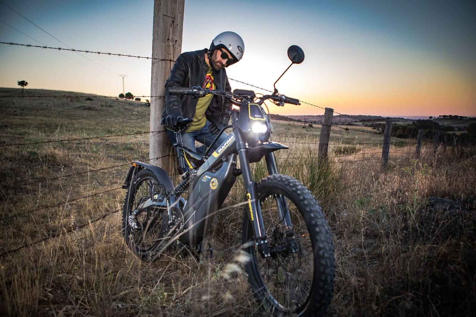 Bultaco Brinco C Restyle Night Time Shoot 4