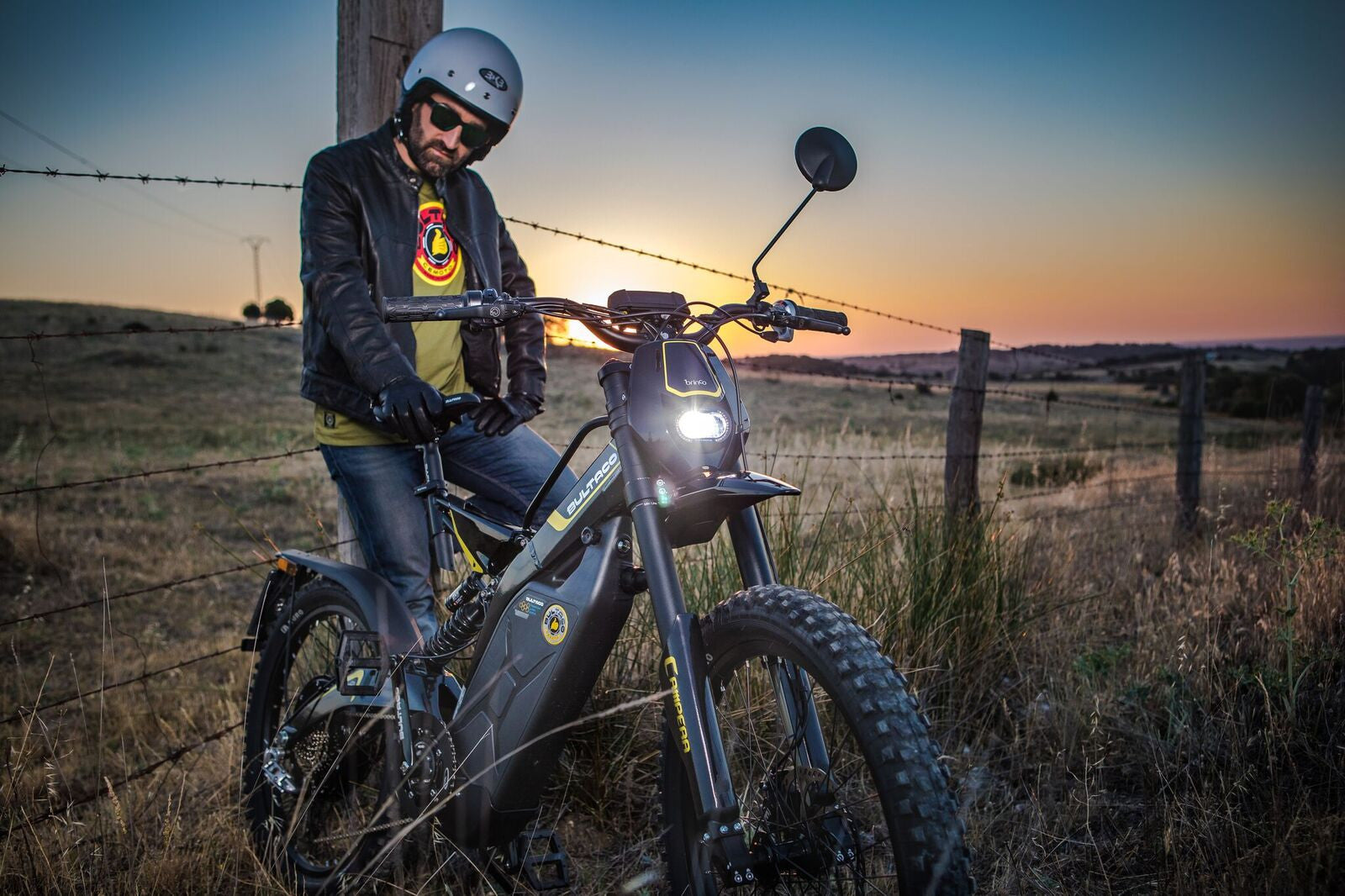 Bultaco Brinco C Restyle Night Time Shoot 5