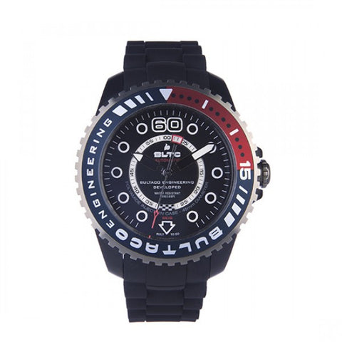 Reloj Speedcity 45 Black Solo T Bordeaux Watch Front