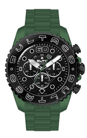 Reloj Speedcity 45 Chrono Green Black Watch