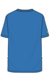 Bultaco Horizon Blue Short Sleeve T-Shirt Back