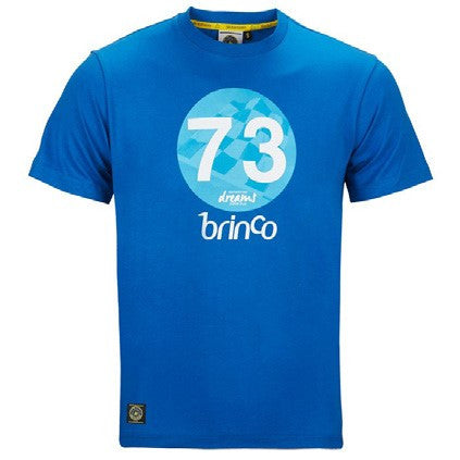 Bultaco Horizon Blue Short Sleeve T-Shirt Front