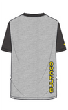 Bultaco Smoke Grey Short Sleeve Shirt Back