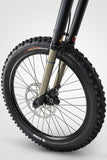 Bultaco Brinco RB Black-Yellow Front Wheel