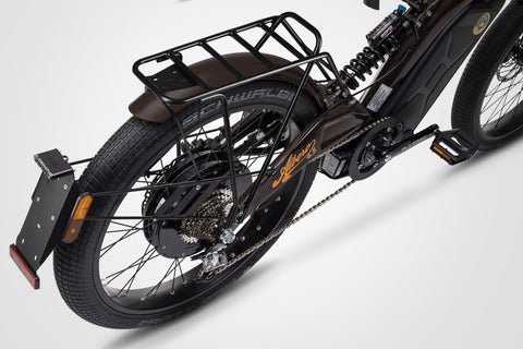 Bultaco Rear Carrier on Albero