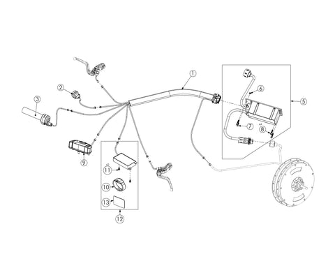 Bultaco Brinco R Electrics Diagram