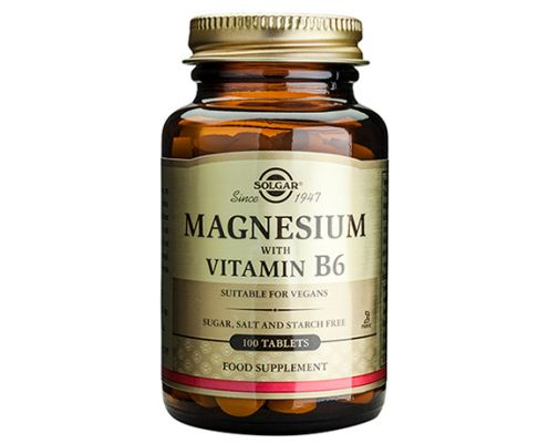 Solgar - Magnesium With Vitamin B6 Tablets