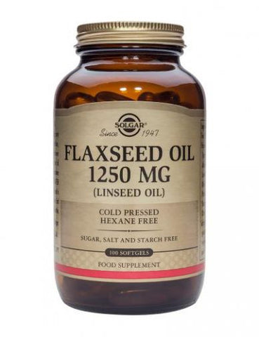 Solgar - Flaxseed Oil 1250mg Softgels