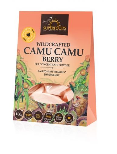 Soaring Free Superfoods Wildcrafed Camu Camu Berry Powder