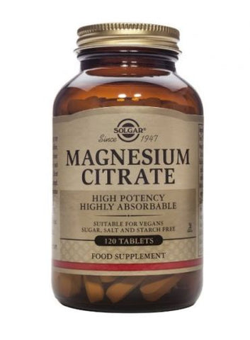 Solgar -  Magnesium Citrate Tablets