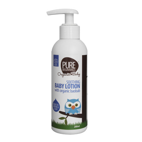Pure Begnnings Soothing Baby Lotion