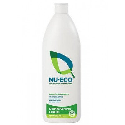 Nu-Eco Dishwashing Liquid Fresh Citrus 750ml