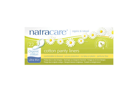 Natracare Organic Cotton Ultra Thin Panty Liners