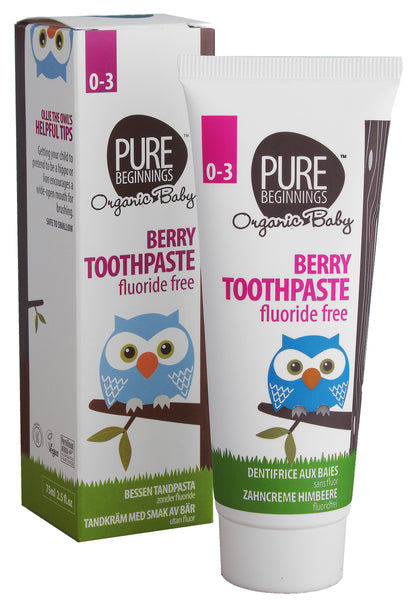 Pure Beginnings Berry Toothpaste with Xylitol 75ml