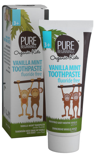 Pure Beginnings Vanilla Mint Toothpaste with Xylitol