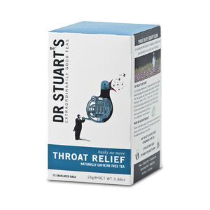 Dr Stuarts Throat Relief Tea