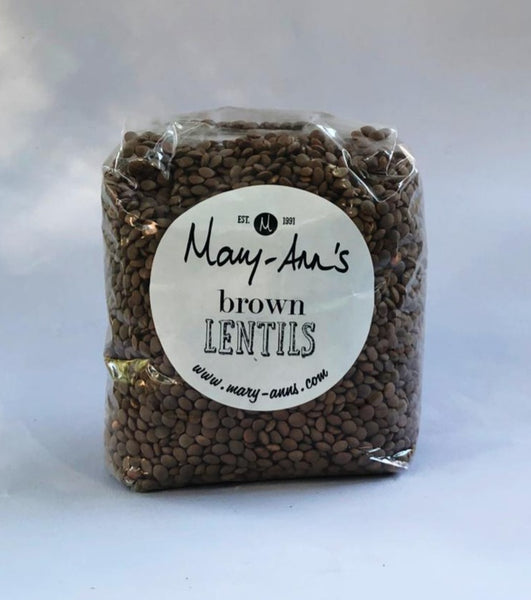 Mary Ann's - Organic Brown Lentils 500g