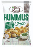 Eat Real -  Sour Cream & Chives Hummus Chips 45g