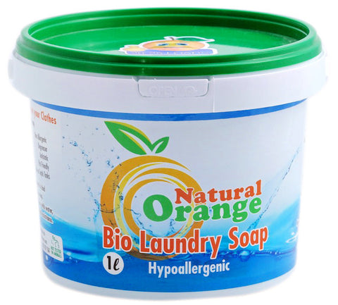 Natural Orange Laundry Soap