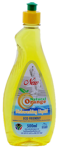 Natural Orange Dishwashing Liquid