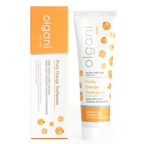 Olgani - Kids Fruity Orange Toothpaste 75ml