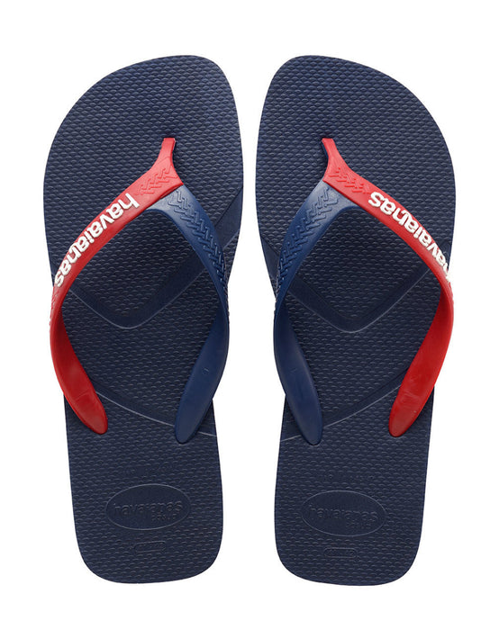 HAVAIANAS CASUAL in NAVY BLUE & RED-2