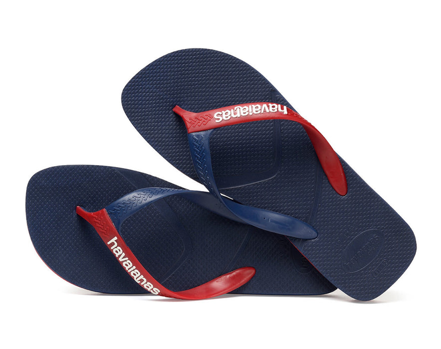 HAVAIANAS CASUAL in NAVY BLUE & RED-3