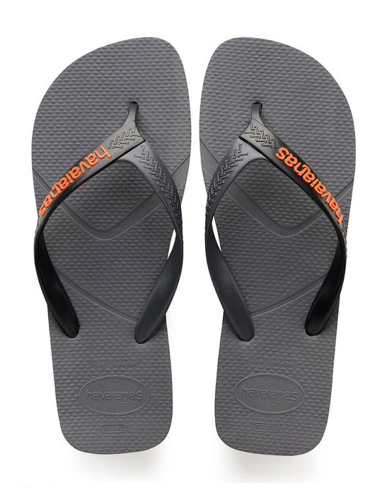 HAVAIANAS CASUAL in STEEL GREY & BLACK-2