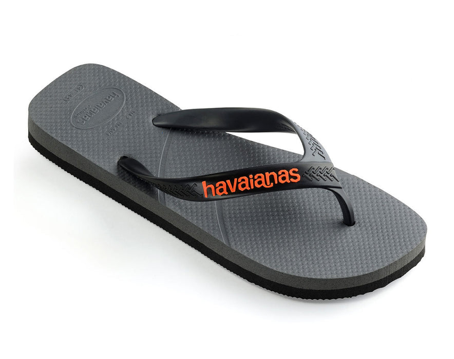 HAVAIANAS CASUAL in STEEL GREY & BLACK-1