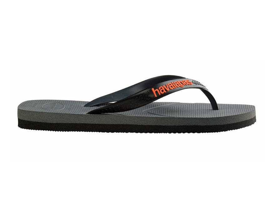 HAVAIANAS CASUAL in STEEL GREY & BLACK-4