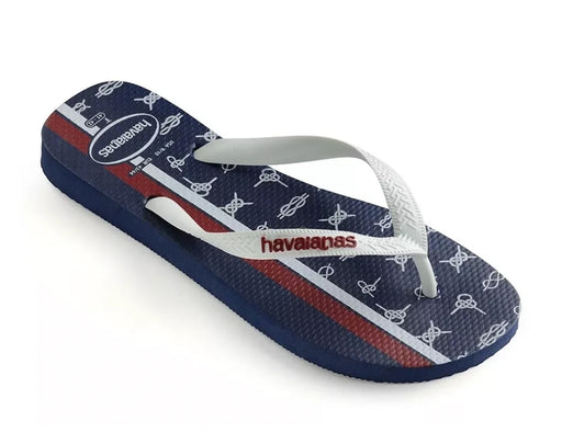 Havaianas Unisex Top Nautical (Navy Blue & White)