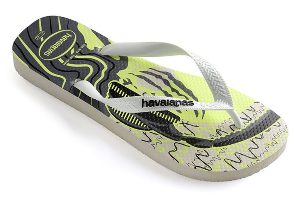 a5fcda6c17b37 Home Mens  Havaianas 4 Nite Sandals (White   Dark). HAVAIANAS 4 NITE in  WHITE   DARK-1