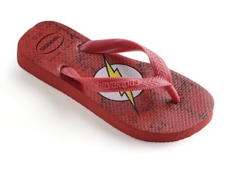 HAVAIANAS KIDS HEROES DC SUPERMAN & FLASH-1