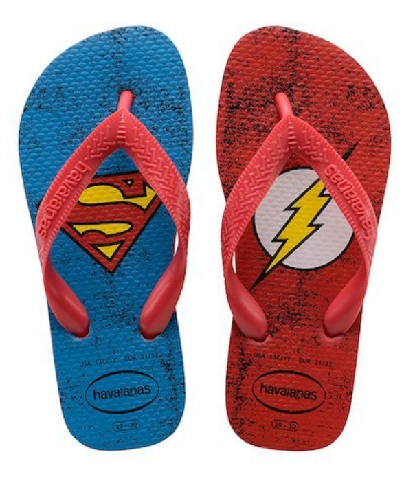 HAVAIANAS KIDS HEROES DC SUPERMAN & FLASH-2