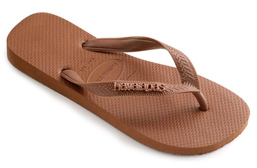 ca3469a7f561 Havaianas with Metallic Logo for Women (Rust) — Schumart