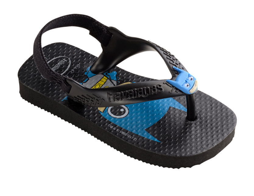 64e32983e03 Home Havaianas Sandals for Kids (Batman). HAVAIANAS BABY HEROES BATMAN-1