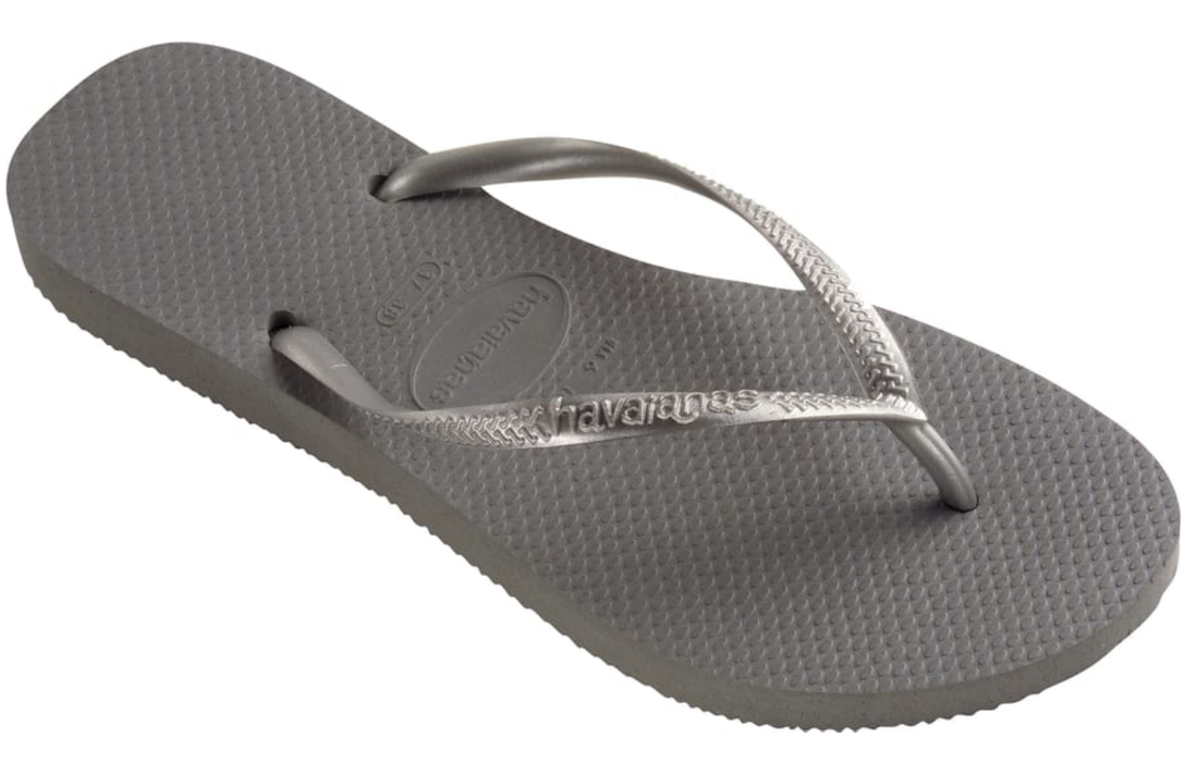 5bd354b8649e Havaianas Slim for Women (Steel Grey) — Schumart