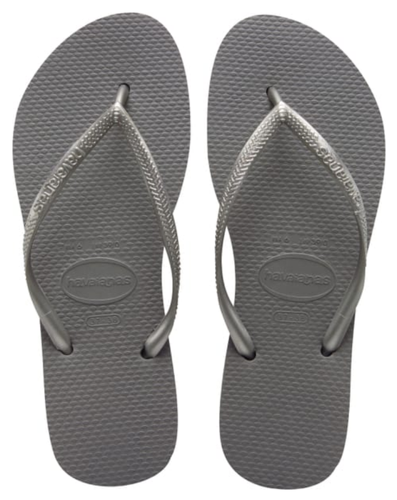 HAVAIANAS SLIM in STEEL GREY-2