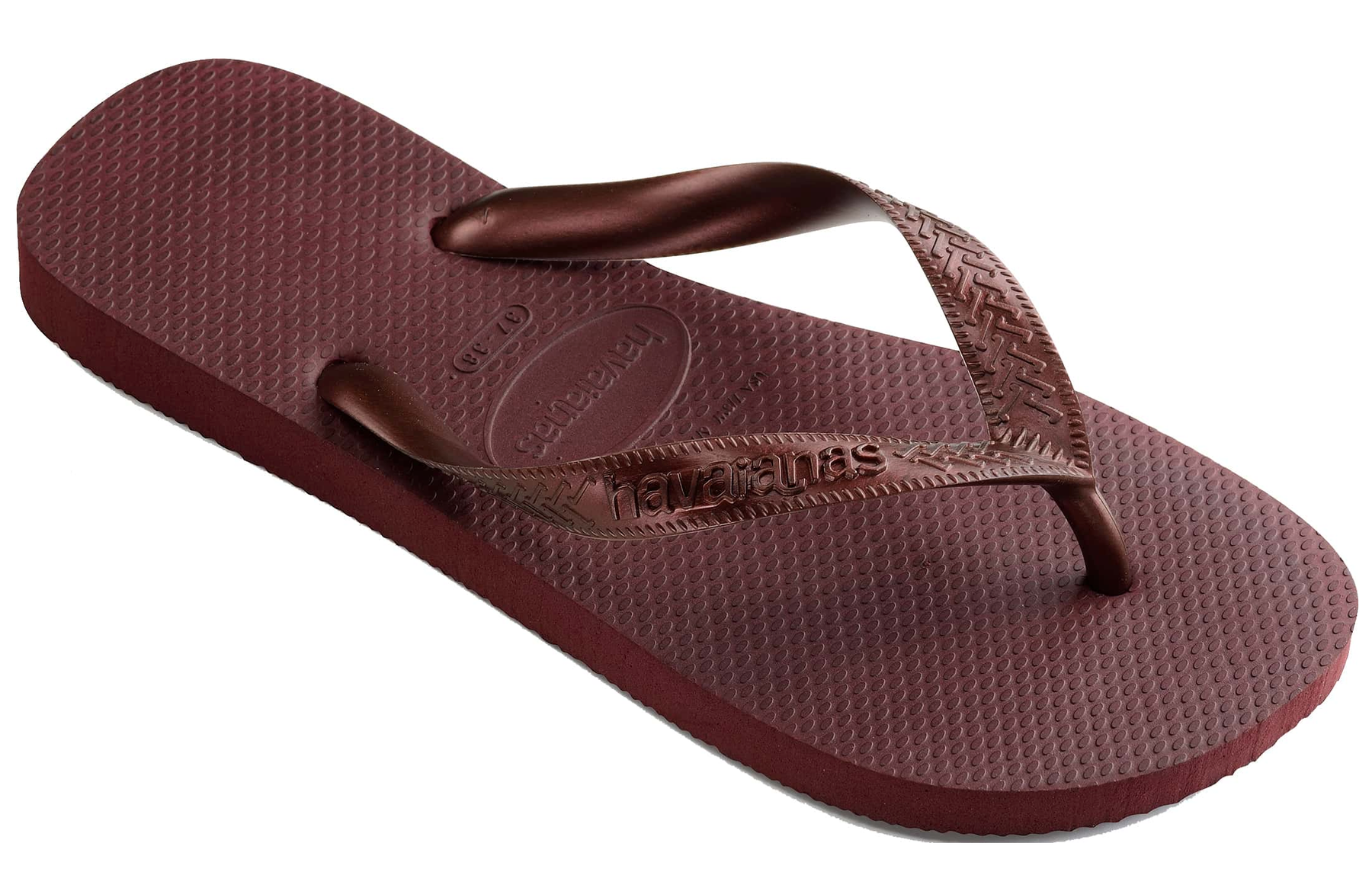 HAVAIANAS TOP TIRAS in GRAPE WINE-1