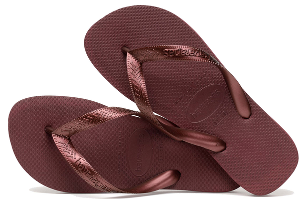 d6a5f3f3cb747 HAVAIANAS TOP TIRAS in GRAPE WINE