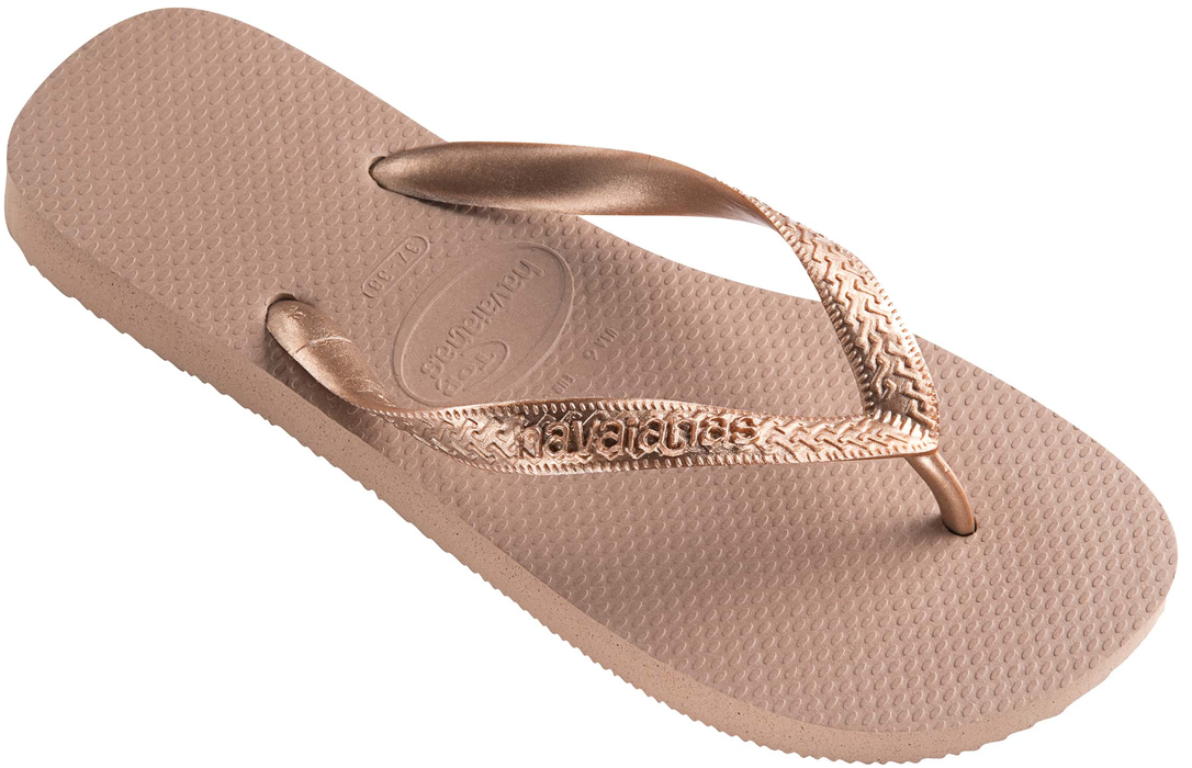 HAVAIANAS TOP TIRAS in ROSE GOLD-1