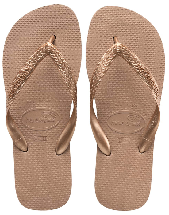 HAVAIANAS TOP TIRAS in ROSE GOLD-2