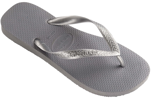 HAVAIANAS TOP TIRAS in STEEL GREY-1