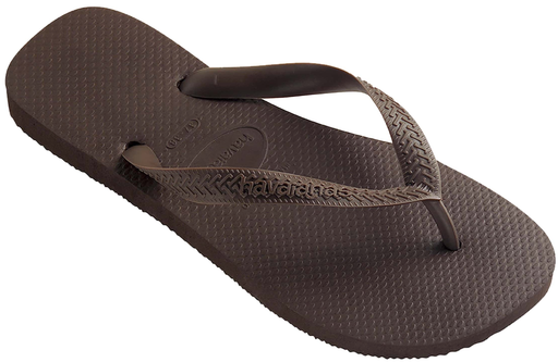 HAVAIANAS TOP in DARK BROWN-1