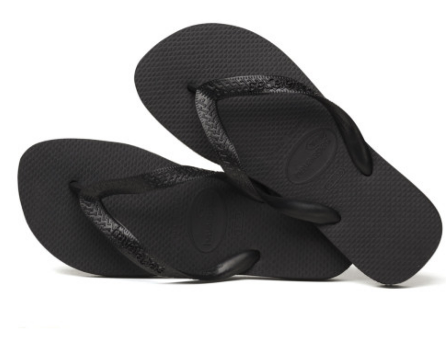 HAVAIANAS TOP in BLACK-2