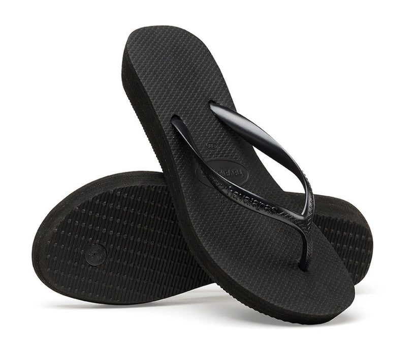 HAVAIANAS HIGH LIGHT in BLACK-5