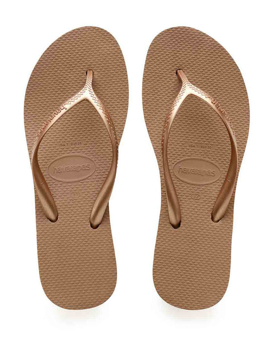 HAVAIANAS HIGH LIGHT in ROSE GOLD-2