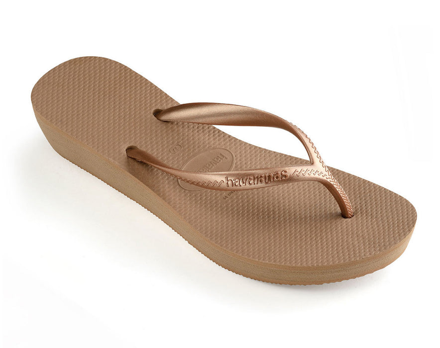 HAVAIANAS HIGH LIGHT in ROSE GOLD-1