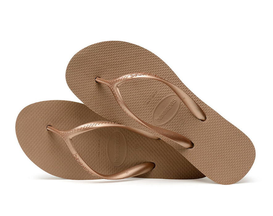 HAVAIANAS HIGH LIGHT in ROSE GOLD-3